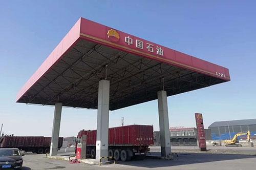 加油站保冷施工